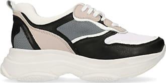 Nudefarbene Dad-Sneaker aus Veloursleder (36,37,38,39,40,41,42)