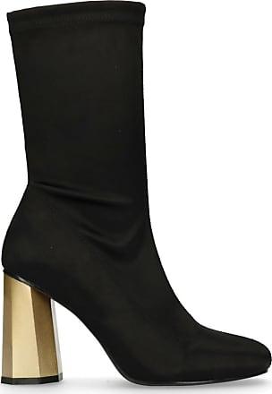 Schwarze Sock Boots mit Absatz (36,37,38,39,40,41)