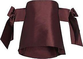 Sachin & Babi Woman Off-the-shoulder Ruffled Crepe Top Black Size 6 Sachin & Babi