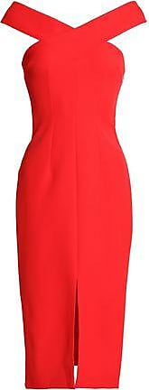 Safiyaa Woman Off-the-shoulder Crepe Dress Tomato Red Size 40 SAFiYAA