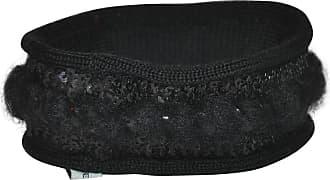 Saint Laurent Black Hand-woven & Sequins Bracelet