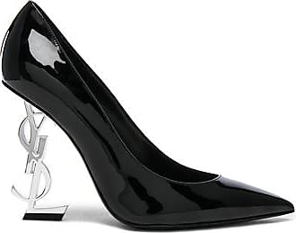 Opium Patent Monogramme Heels in Black. - size 37.5 (also in 35,35.5,36,36.5,37,38,39,39.5,40,41) Saint Laurent