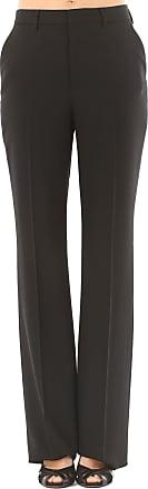 Pants for Women On Sale, Black, Virgin wool, 2017, 24 26 Saint Laurent