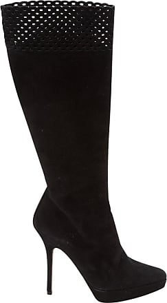 Pre-owned - LEATHER BOOTS Saint Laurent