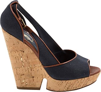 Pre-owned - Cloth sandals Saint Laurent