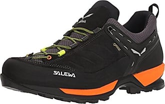 Salewa WS MTN Trainer GTX, Chaussures de Randonnée Basses Femme, Bleu (Dark Denim/Papavero 8673), 38.5 EU