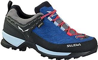 WS MTN Trainer GTX, Stivali da Escursionismo Donna, Blu (Dark Denim/Papavero 8673), 38.5 EU Salewa