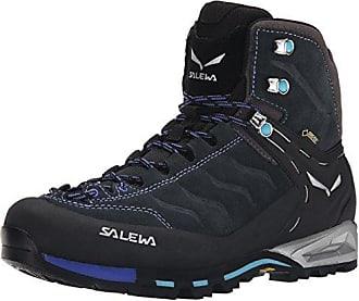 Salewa 00-0000063415 Damen Trekking- & Wanderstiefel, Schwarz (Carbon/River Blue 0790), 35 EU (3 Damen UK)