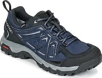 Salomon Homme Evasion 2 GTX Chaussures de Randonnée et Multifonction, Imperméable, Gris (Castor Gray/Black/Chive), Taille: 12.5