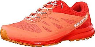 Salomon Sonic RA Orange-Pink, Damen Trailrunning- & Laufschuh, Größe EU 36 2/3 - Farbe Fiery Coral-Cerise-Pink Glow Damen Trailrunning- & Laufschuh, Fiery Coral - Cerise - Pink Glow, Größe 36 2/3 - Orange-Pink