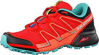 Salomon Damen Speedcross Vario W Traillaufschuhe, Rot (Poppy Red/Black/Ceramic 24), 39 1/3 EU