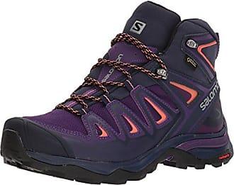 Salomon Authentic Ltr GTX W, Damen Trekking- & Wanderstiefel, Grau (Pearl Grey/Denim Mystic Purple 000), 36 2/3 EU