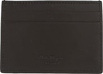 Wallet for Women On Sale, Black, Printed Leather, 2017, one size Salvatore Ferragamo