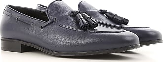 Loafers for Men On Sale, Dark Blue, Leather, 2017, 7 9 Salvatore Ferragamo