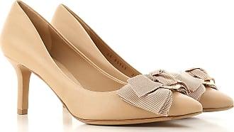 Zapatos de Mujer Baratos en Rebajas, Carne, Piel, 2017, 37 Salvatore Ferragamo