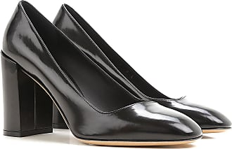 Zapatos de Tacón de Salón Baratos en Rebajas, Negro, Terciopelo, 2017, 39.5 Salvatore Ferragamo