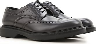 Lace Up Shoes for Men Oxfords, Derbies and Brogues On Sale, Black, Leather, 2017, 10.5 6.5 7.5 8 8.5 9 Salvatore Ferragamo
