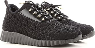 Sneakers for Women On Sale in Outlet, Black, Elastic Fabric, 2017, 3.5 4.5 7 Salvatore Ferragamo