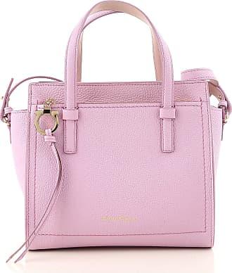 Top Handle Handbag On Sale, lilla, Leather, 2017, one size Salvatore Ferragamo