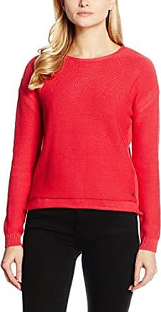 Cardigan Long Sleeves, Gilet Femme, Rot (Scarlet Red 20114St) FR: 36 (Taille Fabricant: 34)Sandwich