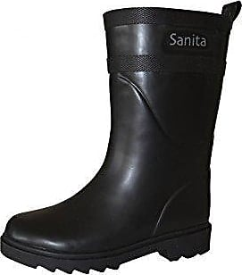 Sanita Fiona Welly, Damen Gummistiefel, Schwarz (Black), 38 EU (5 UK)