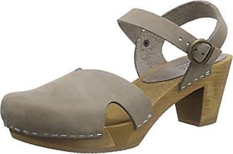 Sinja Square Sandal, Sandales Compensées Femme - Beige - Beige (Naturel), 41Sanita