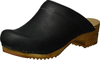 Sanita Damen Fenja Open Clogs, Schwarz (Black 2), 35 EU