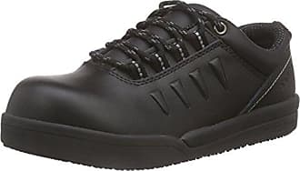 Sanita San-Chef Lace Shoe-O2 Zapatos de Seguridad Unisex Adulto, Negro - Schwarz (Black 2), 38 EU