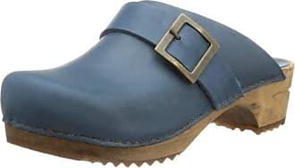 Sonnica-E, Zuecos para Mujer, Azul (Navy 31000), 40 EU Ganter