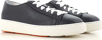Sneakers for Women, Midnight, Leather, 2017, 4.5 5 5.5 6.5 7 8 8.5 Santoni
