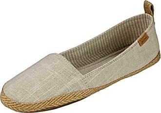 Sanuk Womens Espie Slip On LX Shoes Footwear Size 08 Natural/Navy Ikat Dot