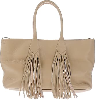 Tote Bag On Sale, Green, Leather, 2017, one size Sara Battaglia