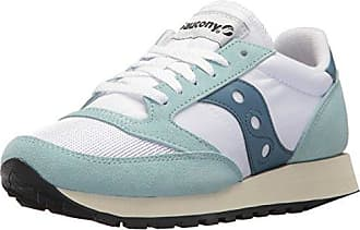 Saucony Jazz 91, Zapatillas Unisex Adultos, Varios Colores (Varios Colores (White/Light Red/Green)), 38 EU