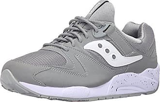 Saucony Grid 9000, Zapatillas Unisex Adultos, Gris (Gris (Light Grey)), 38 EU