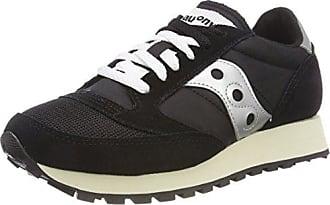 Saucony Jazz Original Vintage, Sneaker Unisex - Adulto, Nero (Black/White 10), 46 EU