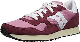 Saucony DXN Trainer Vintage, Chaussures de Gymnastique Femme, Gris (WHT Gum  24 8bda992ebfb1