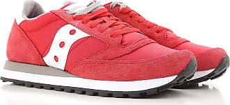 Sneaker für Herren, Tennisschuh, Turnschuh, Rot, Wildleder, 2017, 40.5 41 42 42.5 43 44 44.5 45 46 Saucony