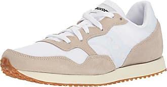 Saucony DXN Trainer Vintage, Zapatillas de Cross para Mujer, Blanco (White/Gum 24), 41 EU
