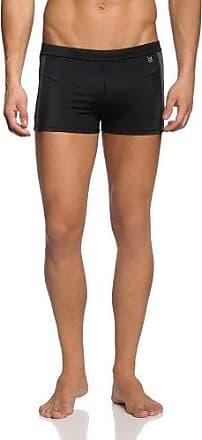 Basic Instinct Men Hr. Aqua Shorts - Pantalones para hombre, color schwarz (black 8596), talla Small Skiny