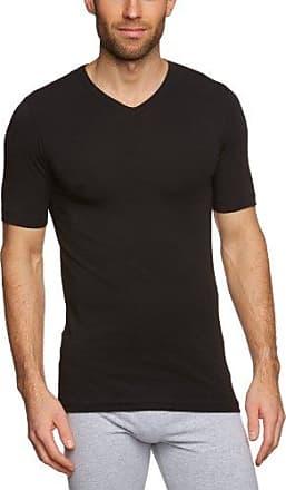 Camiseta interior de manga larga para hombre, talla 52, color negro 000 Schiesser