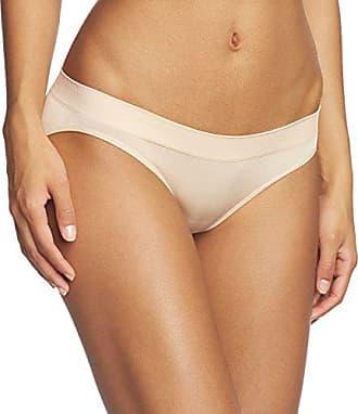 Schiesser - Bikini - Uni - Femme - beige - Medium
