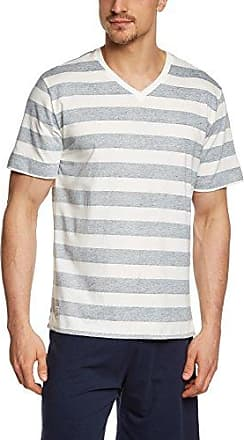 Mix & Relax Shirt kurzarm146856 - Camiseta de pijama Hombre, Azul (dunkelblau 803), XXXXX-Large Schiesser