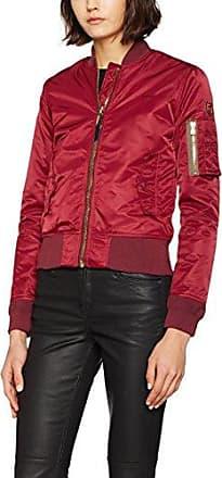 Silverado, Chaqueta para Hombre, Rojo (Bordeuax), XXXL Schott NYC