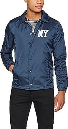 Coach, Abrigo para Hombre, Azul (Navy), L Schott NYC