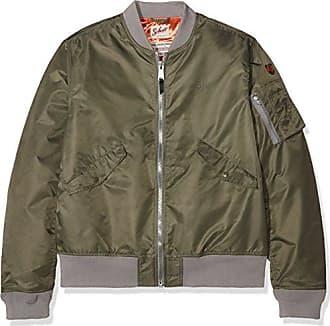 Jktac, Blouson Homme, Vert (Kaki), XXX-Large (Taille Fabricant: XXXL)Schott NYC