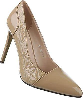 Frauen High Heels mit 11 cm Stiletto-Absatz in Schwarz und Größe 39 Klassische Abendschuhe in Lacklederoptik