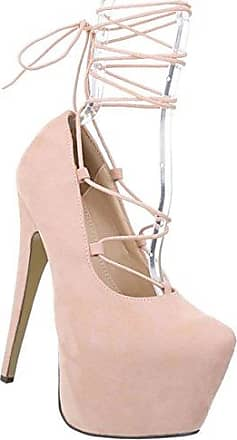 Damen Schuhe Pumps Stiletto High Heels Metallic Party Schuhe Glitzer