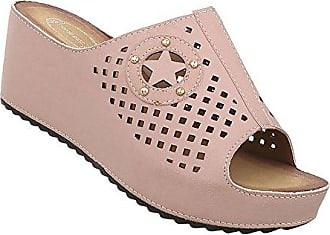 789e35d047249e Damen Schuhe Sandaletten Keilabsatz Pantoletten Designer Mules Trend Pumps  Schicke Abendschuhe Schwarz 37 Schuhcity24 Gut Verkaufen ...