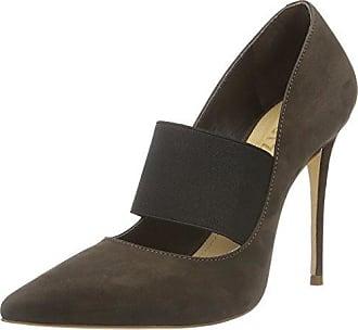 18601008 - Zapatos de Vestir Para Mujer, Color Gris (Mineral Gray), Talla 37 Schutz
