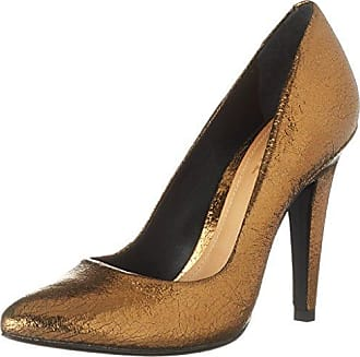 SchutzWomen Shoes - Tira de Tobillo Mujer, Color Plateado, Talla 38